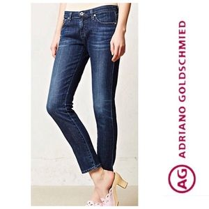 AG Adriano Goldschmied The Stevie Ankle Slim Jeans